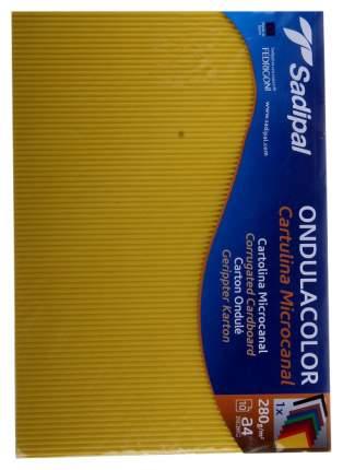 Набор цветного картона Sadipal ONDULACOLOR 5800 Assorted Pack А4 10 шт