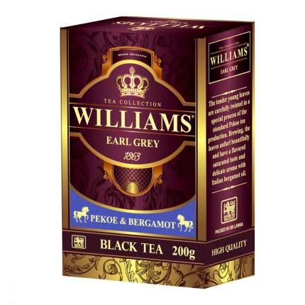 Чай Williams Earl Grey черный с добавками 200 г