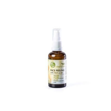 Пилинг для лица с АНА-кислотами OrganicZone для сухой и чувствительной кожи