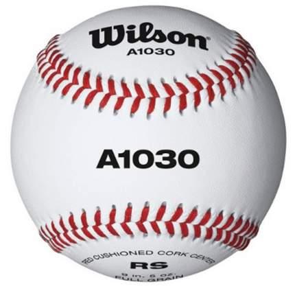 Мяч бейсбольный Wilson Championship WTA1030B, белый