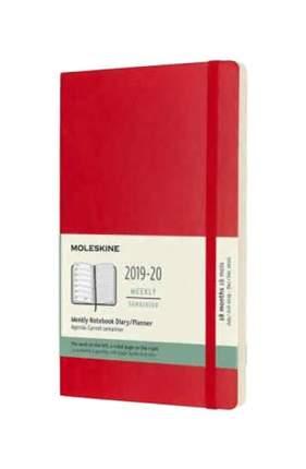 Еженедельник датированный на 18 месяцев Academic WKNT Large, 208 стр. 13х21 см, красный