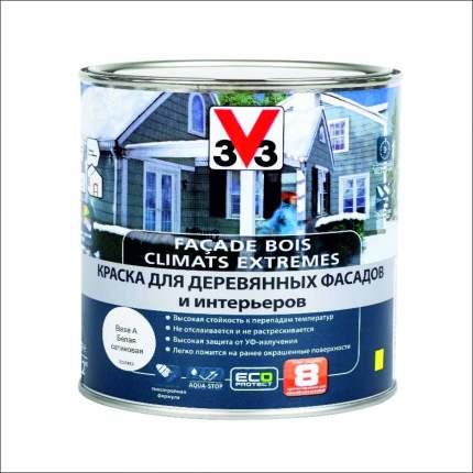 Краска для деревянных фасадов и интерьеров  CLIMATS EXTREMES полуглянцевая 2.5л. база А