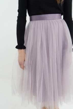 Юбка женская T-Skirt 15SS-02-0001-BS фиолетовая 44 RU