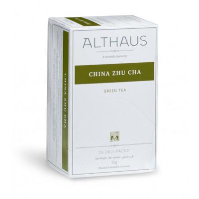 Чай зеленый пакетированный Althaus китайский жу ча