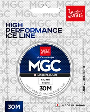 Леска монофильная Lucky John Mgc 0,14 мм, 30 м, 2,55 кг