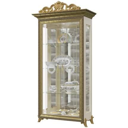 Платяной шкаф Мэри-Мебель Версаль ГВ-02К 1073096 107х48х216, слоновая кость