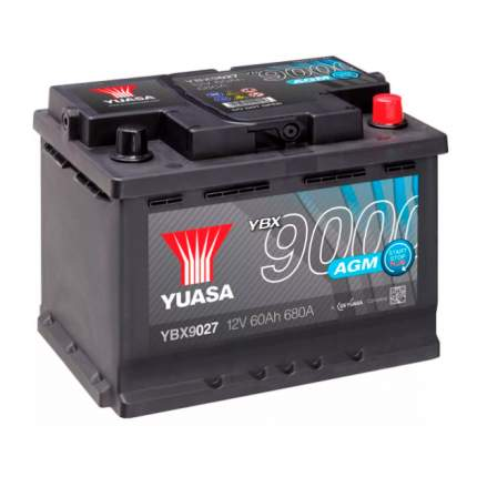 Аккумуляторная Батарея Agm Start Stop Plus[12v 60ah 680a B13] YUASA