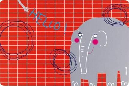 Коврик сервировочный детский Guzzini Hello слон 22606652E