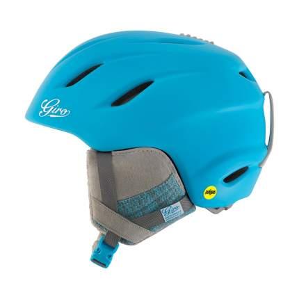 Горнолыжный шлем женский Giro Era 2017, голубой, S