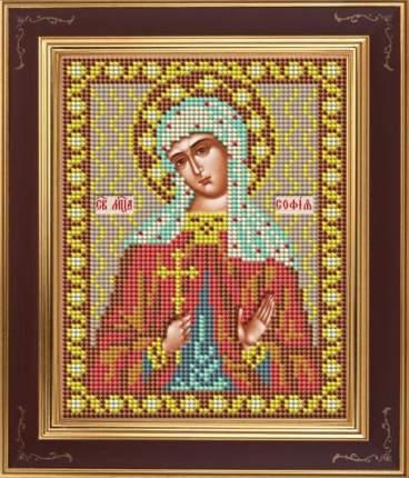 Вышивка бисером Galla Collection М250 Св.София 12х15 см