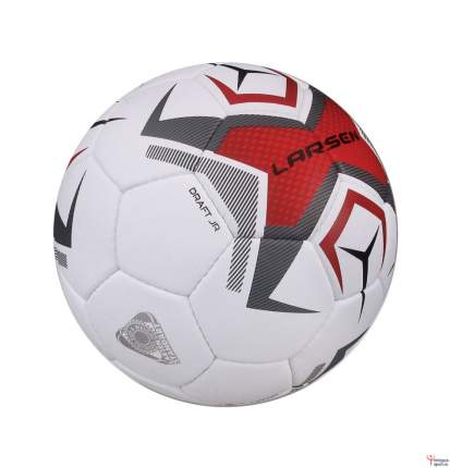 Футбольный мяч Larsen Draft Jr №4 white