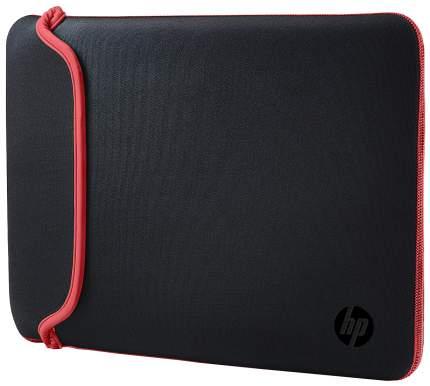 "Чехол для ноутбука 15.6"" HP Chroma Reversible Sleeve черный/красный"