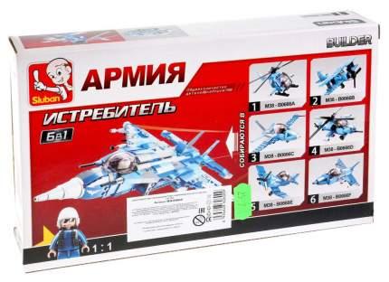 Конструктор пластиковый Sluban Военный Самолет M38-B0666F