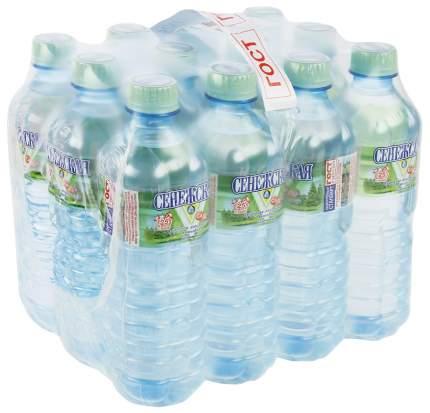 Вода Сенежская негазированная пластик 0.5 л 12 штук в упаковке