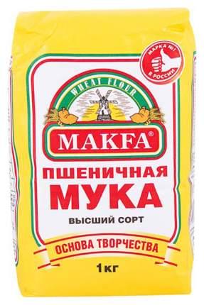 Мука пшеничная Макфа высший сорт 1 кг