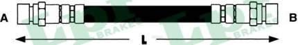 Шланг тормозной системы Lpr 6T47705 задний