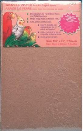 Песочное дно для клеток Penn-Plax GRAVEL PAPER 24х38см 7шт