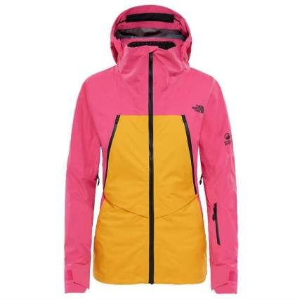 Спортивная куртка женская The North Face Purist Triclimate, zinnia orange/mr. pink, XS