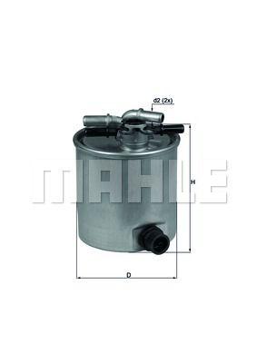 Фильтр топливный KNECHT KL 440/15