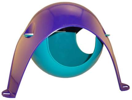 Домик для грызуна Savic пластик, 12х21х21см, цвет в ассортименте