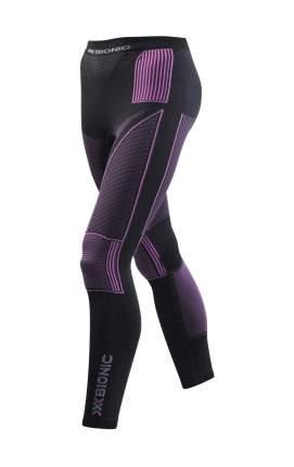 Кальсоны X-Bionic Energy Accumulator Evo Long 2018 женские темно-серые/фиолетовые, XS