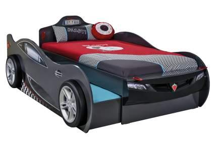 Кровать-машина Cilek Carbed Coupe выдвижнаячерная 90х190/90х180