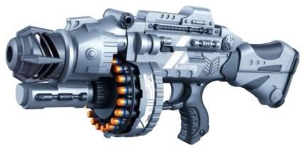 Бластер электронный Наша игрушка с мягкими пулями 40