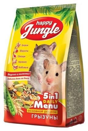 Корм для грызунов Happy Jungle витаминизированный 0.35 кг 1 шт