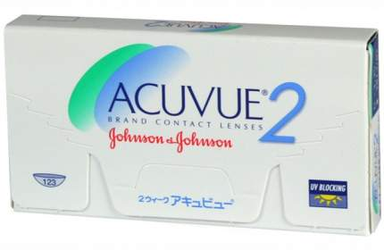 Контактные линзы Acuvue 2 6 линз R 8,7 +7,50