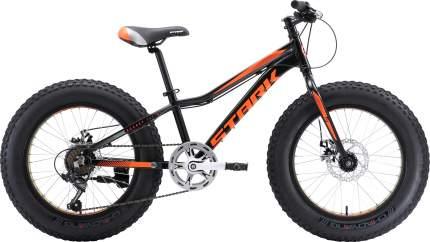 Велосипед Stark Rocket Fat 20.1 D 2018 черный/оранжевый one size