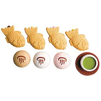Ластики IWAKO Японские сладости №2 (индивидуальная упаковка)