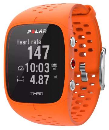 Смарт-часы Polar M430 оранжевые