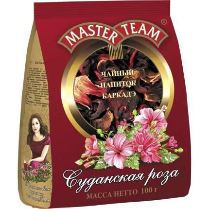 Чай Master Team cуданская роза чайный напиток каркадэ 100 г