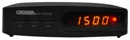 DVB-T2 приставка Cadena CDT-1791SB Black