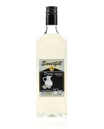 Сироп Sweetfill сливки стекло 500 мл