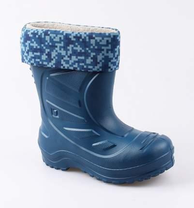 Резиновые сапоги Котофей для мальчика р.31 565003-10 синий