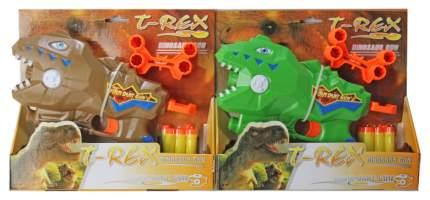Бластер Наша Игрушка Динозавр мягкие пули 6 шт держатель для пуль Z1125DE Наша Игрушка