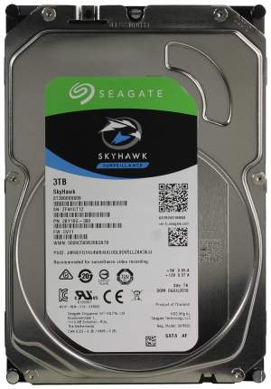 Внутренний жесткий диск Seagate SkyHawk Surveillance 3TB (ST3000VX009)
