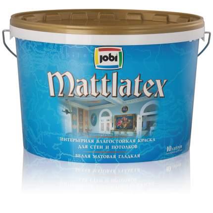 Краска JOBI MATTLATEX влагостойкая 2,5л