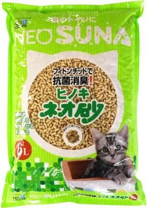 Наполнитель для кошачьего туалета NEO LOO LIFE Комкующийся на основе дробл.древесины