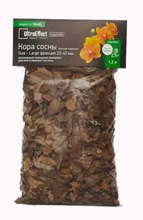 Кора сосны для орхидей UltraEffect BioLine Large фракция 20-40мм 1,2 л