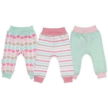 Комплект брюк 3 шт Lucky Child Розовый р.80