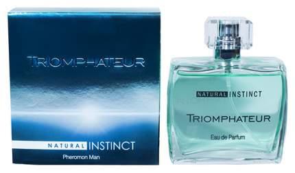 Мужская парфюмерная вода с феромонами Парфюм престиж Natural Instinct Triomphateur 100 мл
