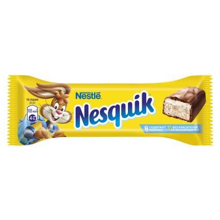 Батончик Nestle nesquik шоколадный 43 г