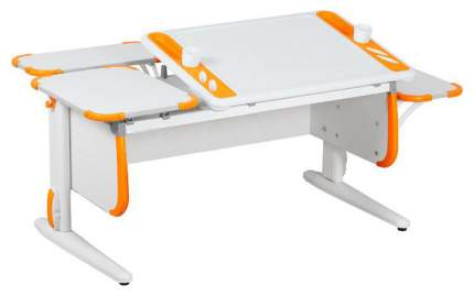 Парта Дэми Techno СУТ 31-02 с задней и боковой приставкой 04962-2 Белый/Оранжевый