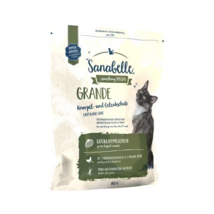 Сухой корм для кошек Bosch Sanabelle Grande, для крупных пород, домашняя птица, 0,4кг