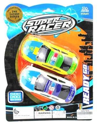 Набор инерционных машинок Yako Toys Super Racer, 2 шт.