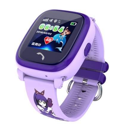 Детские смарт-часы Smart Baby Watch GW400S Purple/Purple
