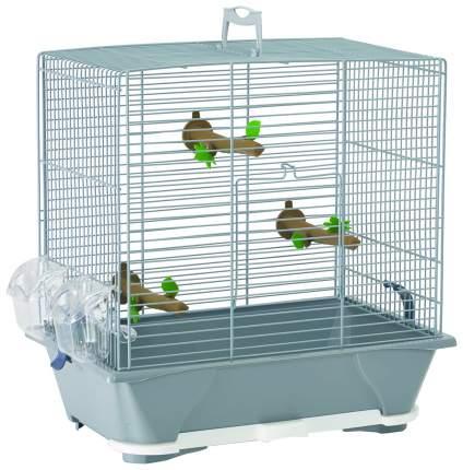 Клетка для птиц Savic Primo 40, серебристая, 48 х 46 х 32 см