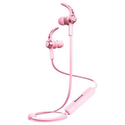 Беспроводные наушники Baseus Licolor Magnet Bluetooth Earphone B11 Pink
